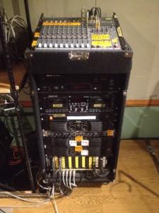 音響機材セットアップ例
