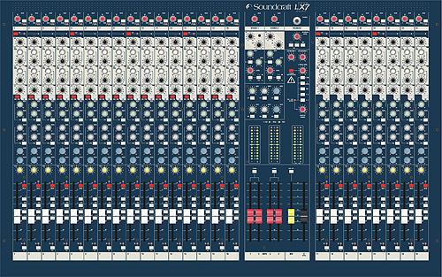 SoundCraft-LX7
